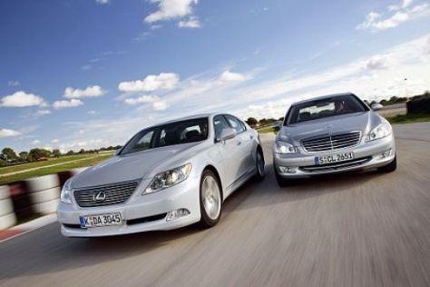 Lexus LS 460 gegen Mercedes S 500