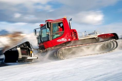 Test Kässbohrer PistenBully 300 Polar