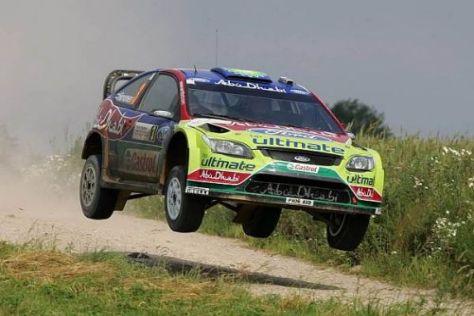 Mikko Hirvonen will bei der Rallye Australien seinen vierten Sieg in Folge holen