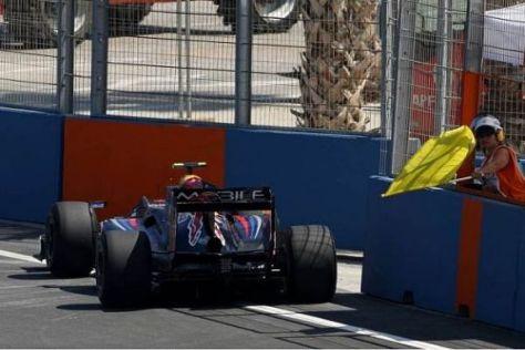 Red Bull hat schon vor dem Rennen geahnt, dass der Motor eingehen könnte