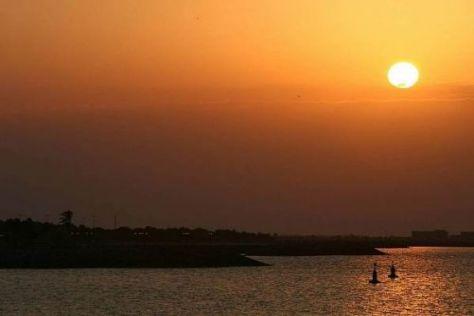 Auf der Yas-Insel von Abu Dhabi wird ein Rennen in der Dämmerung stattfinden