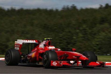 Räikkönen dürfte an diesem Wochenende wieder Podiums-Chancen haben