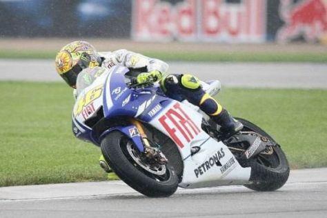 Valentino Rossi ging im ersten Freien Training am Brickyard vorsichtig zu Werke