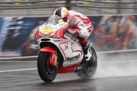 Aleix Espargaro zeigte ein sensationelles Debüt auf der Pramac-Ducati