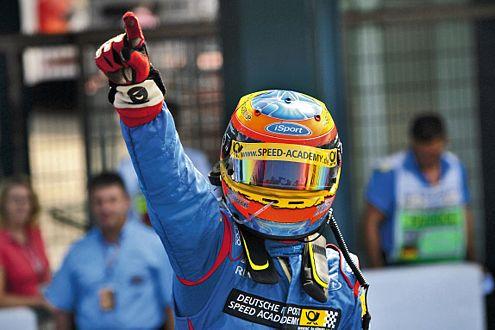 Der Nachwuchsfahrer Timo Glock bleibt eine Hoffnung für die Formel 1.