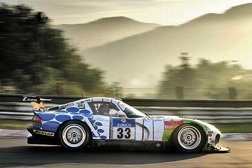 Zakspeeds Dodge Viper ist ein Publikumsliebling auf dem Nürburgring.