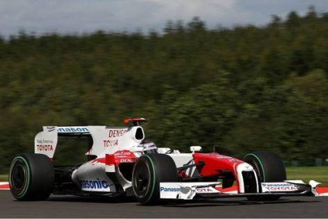 Jarno Trulli hofft am Sonntag auf ein erfolgreiches Rennen