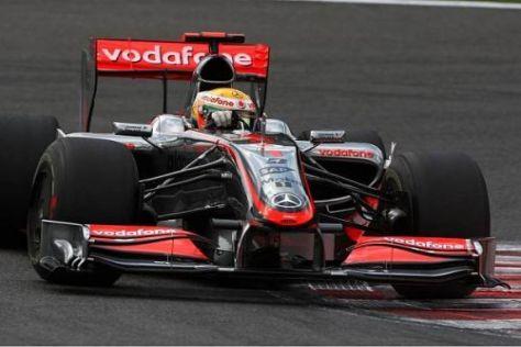 Lewis Hamilton hatte schon befürchtet, dass man hinterherfahren wird