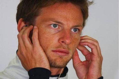 Für Jenson Button wird die Luft nach wie vor dünner