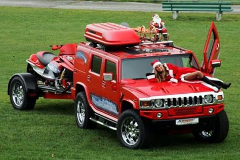 GeigerCars Xmas-Hummer