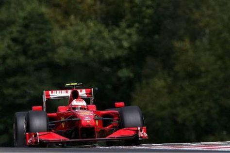 Kimi Räikkönen will im Rennen bis auf das Podium nach vorn kommen