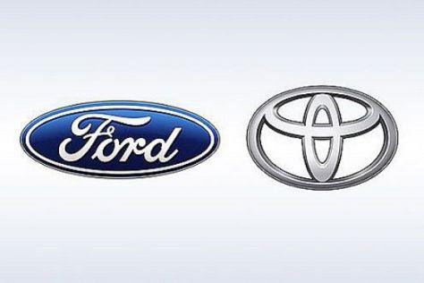 Spitzentreffen Ford und Toyota