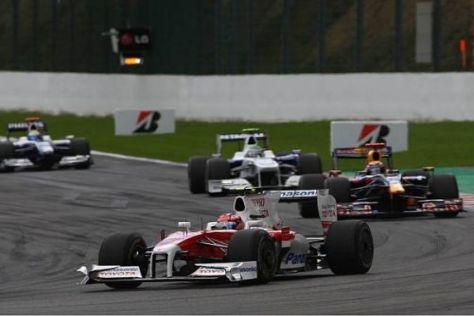 Timo Glock und Jarno Trulli hätten locker in die Punkte fahren können
