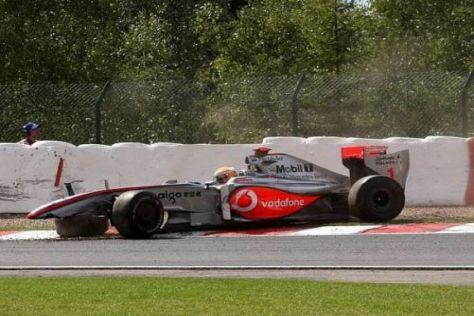 Für Lewis Hamilton war das Rennen bereits vorzeitig gelaufen