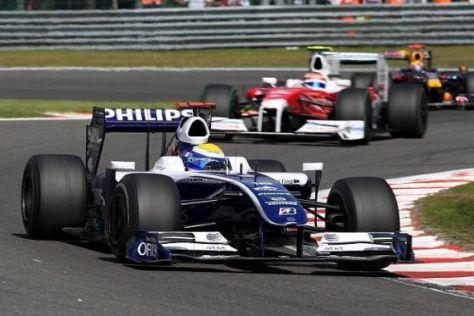 Nico Rosberg musste um den einen WM-Punkt hart kämpfen