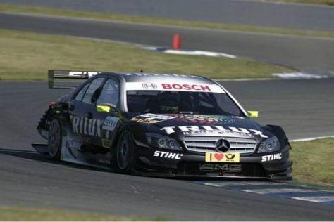 Ralf Schumacher muss sich in der DTM mit geringen g-Kräften auseinander setzen