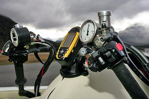 Innovation im Detail: Die Rakete auf Rädern wurde in der Schweiz gebaut.