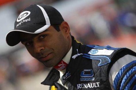 Karun Chandhok würde gerne einspringen, wenn Fisichella bei Ferrari fahren würde...