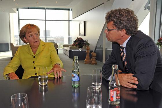 Gespräch mit Angela Merkel