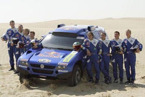 VW auf der Rallye Dakar 2007