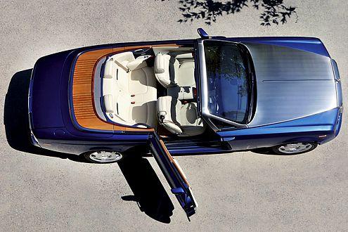 Vorfreude auf die Open-Air-Saison: Rolls-Royce Phantom Drophead Coupé.