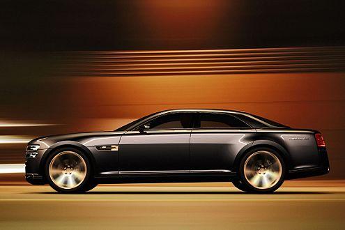 Alles mächtig: Der Ford Interceptor Concept ist ein typischer Amerikaner.