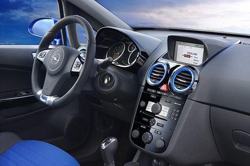Konsequent auf Sport getrimmt: Der Innenraum des stärksten Corsa.