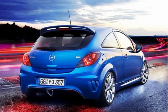opel corsa opc der blaue blitz. Black Bedroom Furniture Sets. Home Design Ideas
