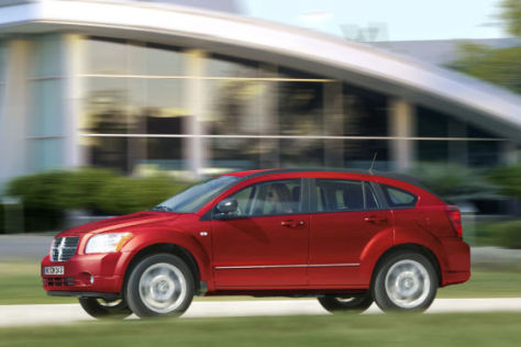 Dodge Caliber Facelift (2009)