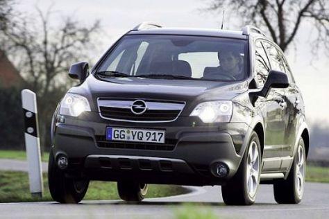 Test Opel Antara 3.2 V6 Cosmo