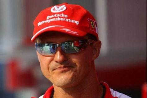 Michael Schumacher wird Ferrari in Monza als Berater zur Seite stehen