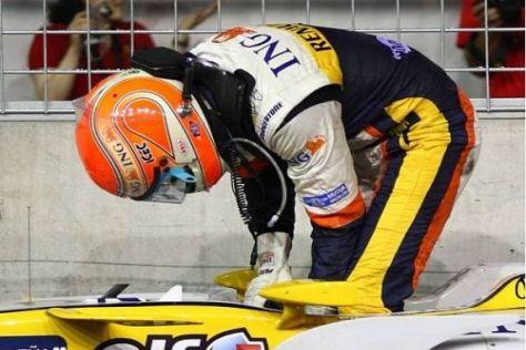 Die Szene, um die sich alles dreht: Unfall von Nelson Piquet in Singapur 2008
