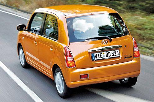 Ein richtiges Familienauto - auf nur 3,40 Länge finden vier Personen Platz.