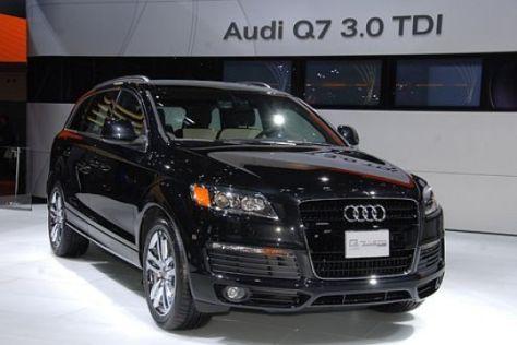 Audi Q7 mit Bluetec