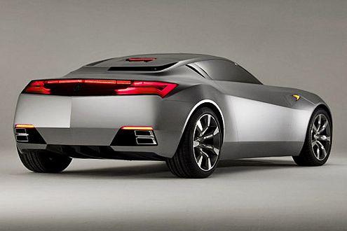 Acura Advanced Sports Car Concept: Die rassige Studie ist der Vorläufer der neuen NSX-Generation.