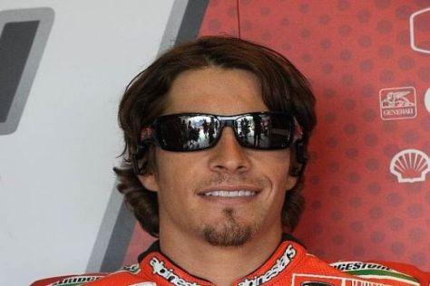 Nicky Hayden darf sich freuen: Erst Podestplatz, dann neuer Ducati-Vertrag