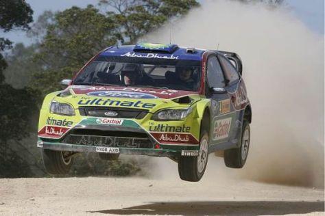 Fast perfekt: Jari-Matti Latvala führt vor der Mittagspause in Australien