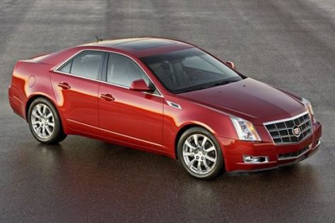 Vorstellung Cadillac CTS (2007)