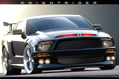 Ford Mustang Shelby GT500KR K.I.T.T.