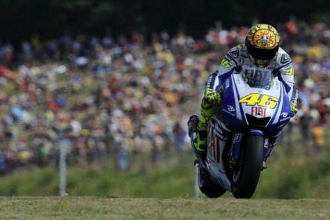 Valentino Rossi brachte den Fans viel Spaß: Bestzeit am Freitag in Misano