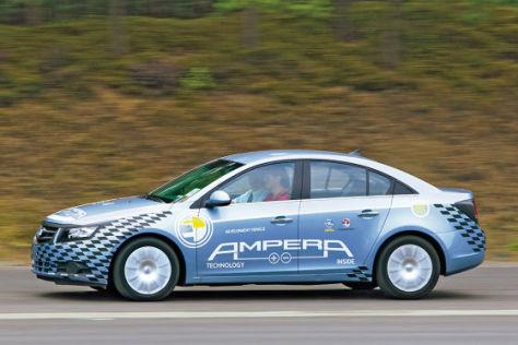 Chevy Cruze mit Technik vom Opel Ampera