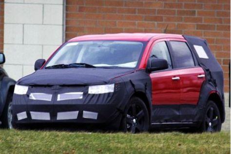 Erlkönig Dodge Sportvan