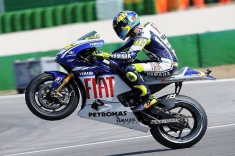 Valentino Rossi will sich in der Weltmeisterschaft wieder weiter absetzen