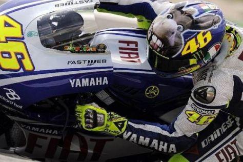 Valentino Rossi feierte seinen Grand-Prix-Sieg Nummer 103