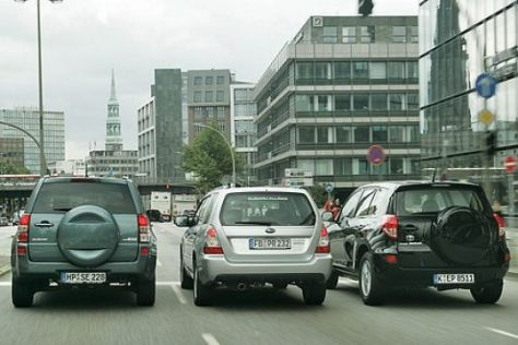 Drei kompakte SUV im Test