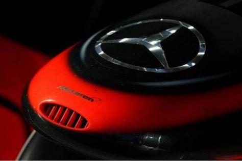 Der Mercedes-Stern könnte künftig auch auf den Brawn-Boliden zu sehen sein