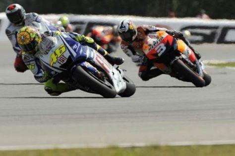 Dani Pedrosa möchte der Yamaha nicht länger hinterherfahren