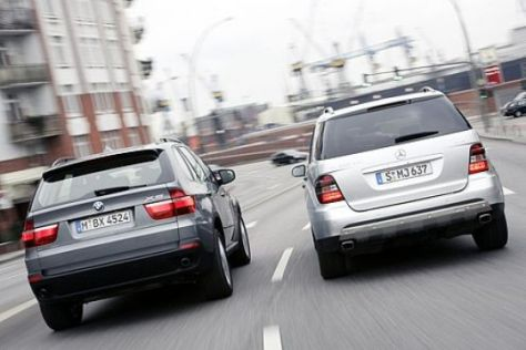 Test BMW X5 – Mercedes ML