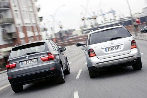 Test BMW X5 – Mercedes ML