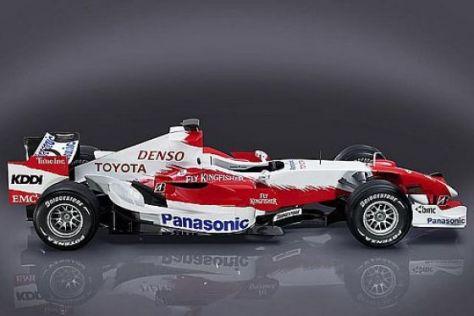 Neuer F1-Bolide von Toyota
